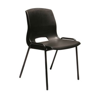BURO QUAD VISITOR CHAIR BLACK