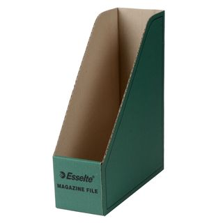 ESSELTE MAGAZINE FILE CARDBOARD GREEN