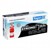 RAPID STAPLES RS26/8 8MM BOX/5000