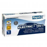 RAPID STAPLES 66/7 7MM ELECTRIC BX/5000