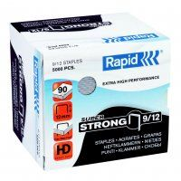 RAPID HD STAPLES RS9/12 12MM BOX/5000