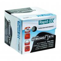 RAPID HD STAPLES RS9/14 14MM BOX/5000