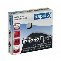 RAPID HD STAPLES RS9/17 17MM BX/1000