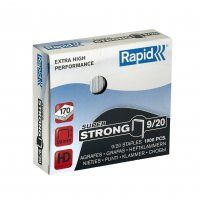 RAPID HD STAPLES RS9/20 20MM BX/1000