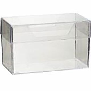 BUSINESS CARD HOLDER ESSELTE WITH LID