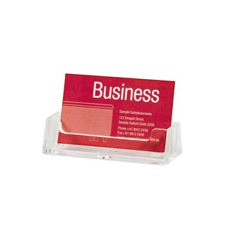 BUSINESS CARD HOLDER ESSELTE SINGLE