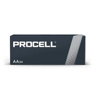 BATTERY DURACELL PROCELL AA PK/24