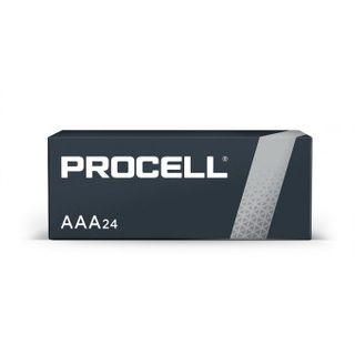 BATTERY DURACELL PROCELL AAA PK/24
