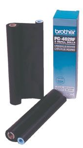 PC402RF THERMAL FAX TONER PKT/2 BROTHER