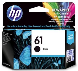 INKJET CARTRIDGE HP 61 CH561WA BLACK