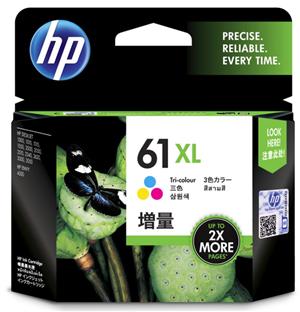 INKJET CARTRIDGE HP 61XL CH564WA TRICOLO