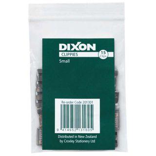 DIXON CLIPPIE PAPER CLIPS SMALL PKT/15