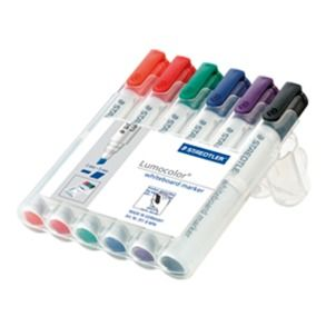 STAEDTLER WHITEBOARD MARKERS 351 PK6 CH