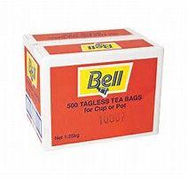 BELL TEA BAGS BOX/500
