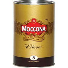 COFFEE MOCCONA DARK ROAST 500GM TIN