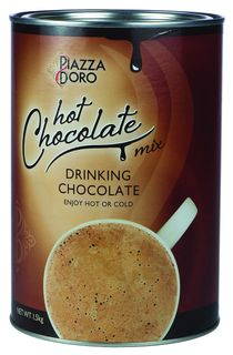 DRINKING CHOCOLATE PIAZZA DORO 1.5KG TIN