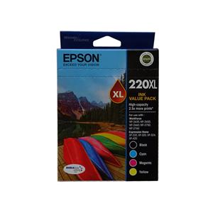 INKJET CARTRIDGE EPSON 220XL VALUE PACK