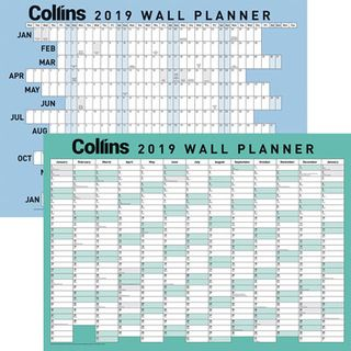 COLLINS WALL PLANNER A2 ODD YEAR