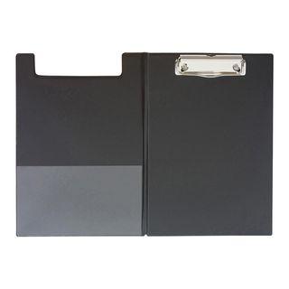 CLIPBOARD GBP A5 DOUBLE PVC BLACK
