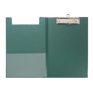 CLIPBOARD GBP A5 DOUBLE PVC GREEN