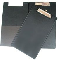 GBP CLIPBOARD VINYL DOUBLE F/CAP BLACK