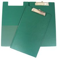 GBP CLIPBOARD VINYL DOUBLE F/CAP GREEN