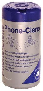 CLEANING WIPES TUB DISPENSER PHONE-CLENE