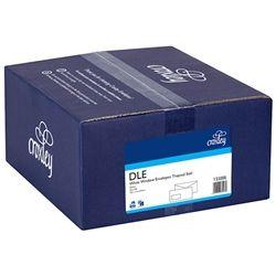 CROXLEY ENVELOPES DLE W/WINDOW T/S BX500