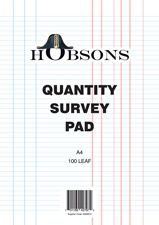QUANTITY SURVEY PAD HOBSON