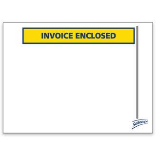 Labelope Invoice Enclosed 115x155mm 1000