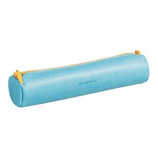 Rhodiarama Pencil Case Round Turquoise