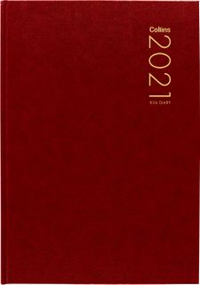 COLLINS DIARY 83A RED ODD YEAR