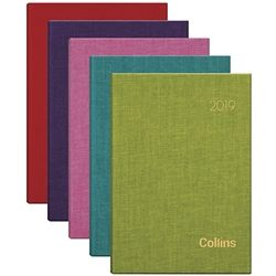 COLLINS DIARY A51 FIESTA ODD YEAR