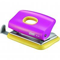 2 HOLE PUNCH RAPID EC10 PINK/YELLOW