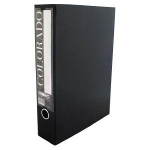 EASTLIGHT COLORADO BOX FILE BLACK F/CAP
