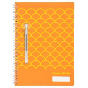 COLOURHIDE NOTEBOOK MY DESIGNER A4 ORANG
