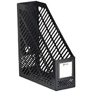 JASTEK JUMBO MAGAZINE RACK BLACK
