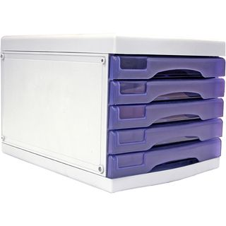 5 DRAWER CABINET GRAPE A4 METRO