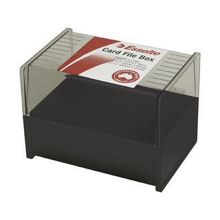 ESSELTE SWS SYSTEM CARD BOX 6 X 4IN