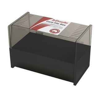 ESSELTE SWS SYSTEM CARD BOX 8 X 5IN