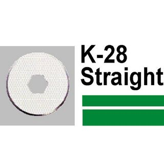 REPLACEMENT BLADE CARL K28 STRAIGHT FOR