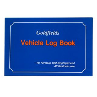 VEHICLE LOG BOOK GOLDFIELDS