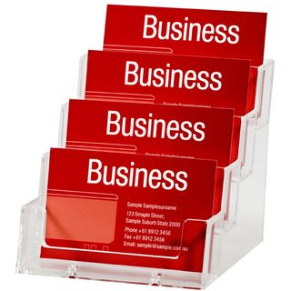 BUSINESS CARD HOLDER ESSELTE 4 TIER