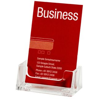 BUSINESS CARD HOLDER ESSELTE PORTRAIT