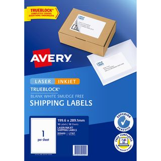 AVERY INTERNET LABELS L7167 1UP PK/10