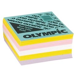 MEMO CUBE REFILL OLYMPIC HALF HEIGHT