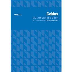 COLLINS MULTIPURPOSE BOOK A5/50TL