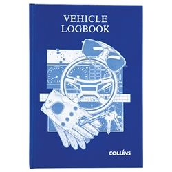VEHICLE LOG BOOK A5 COLLINS