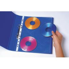 CD/DVD POCKETS MARBIG 3 DISCS PER PAGE