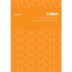 COLLINS MANIFOLD BOOK A5/50DL